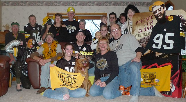Pittsburgh Steeler Family