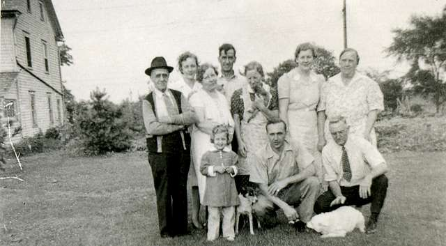 Vintage Family and Pets