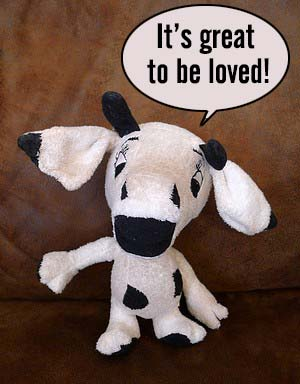 Dog Cow Toy
