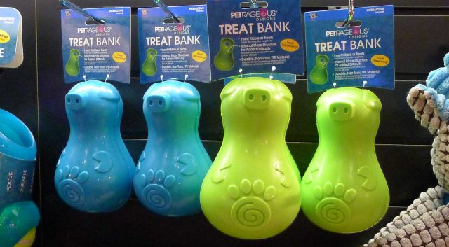 Petrageous Thinkrageous Treat Bank
